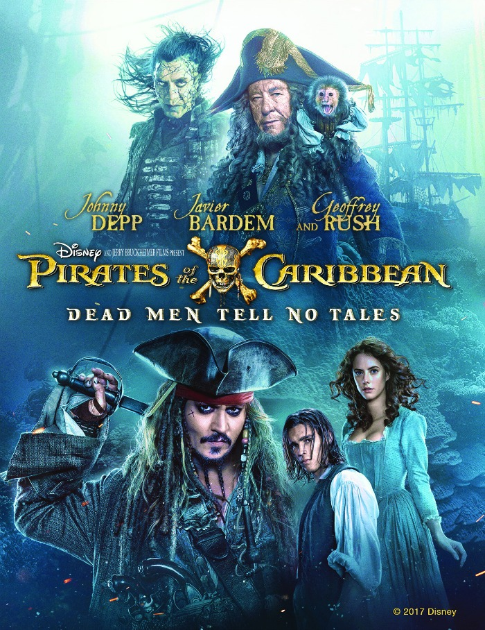 Pirates of the Caribbean Dead Men Tell No Tales Digital Copy