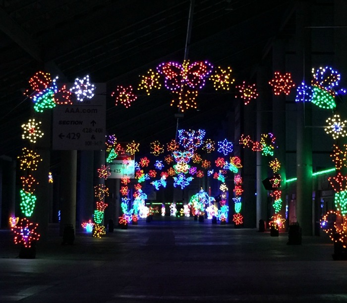 Texas Motor Speedway Gift of Lights