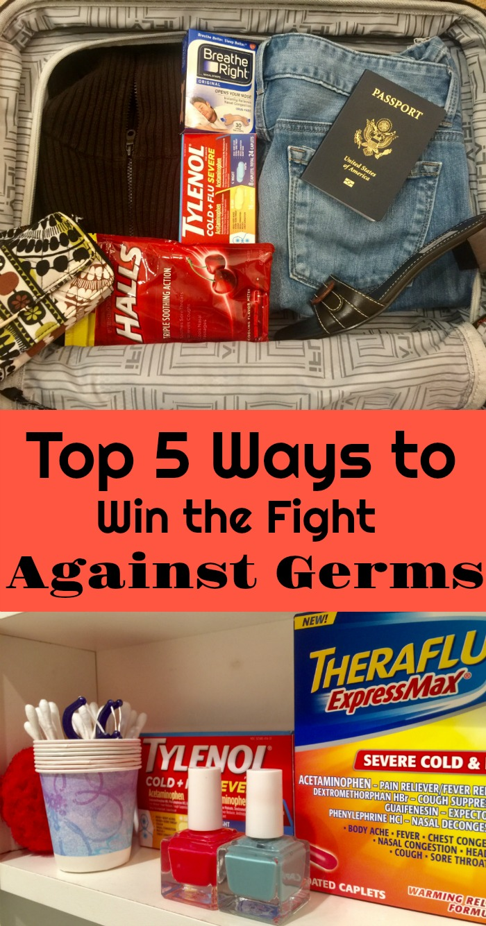 Top 5 Ways to win the fight against germs