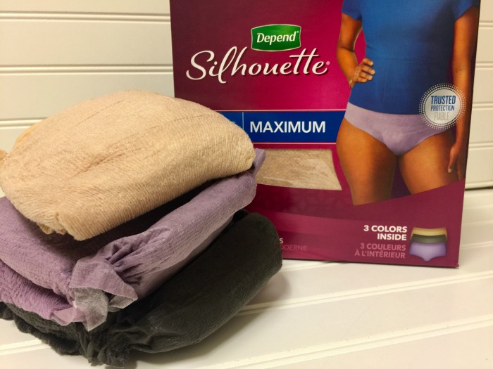 Depend® Silhouette® Active Fit® Briefs