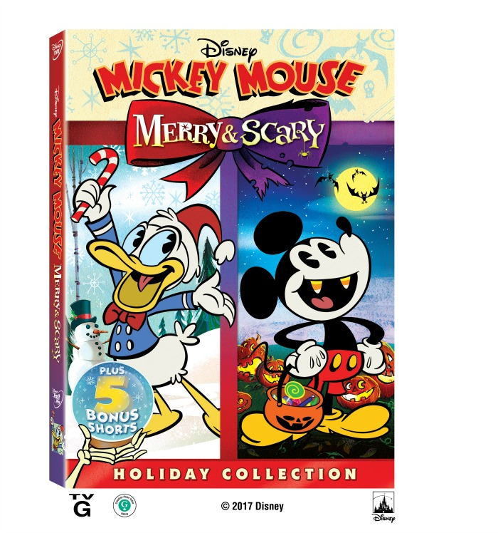 Disney Mickey Mouse Merry and Scary
