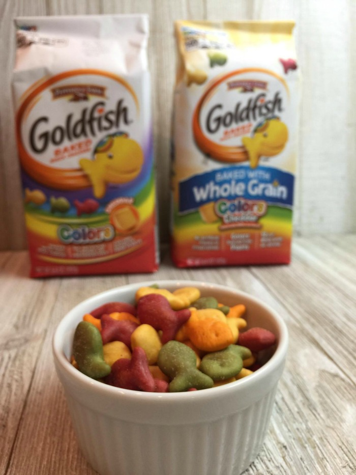 Goldfish Colors Crackers