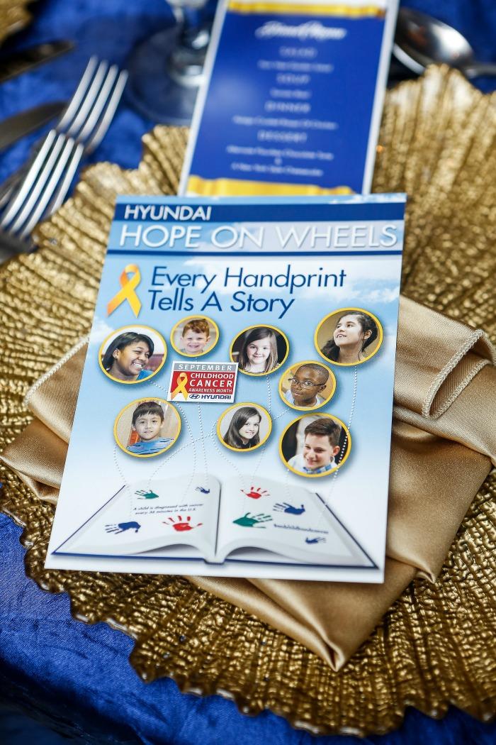 Hyundai Hope on Wheels Celebration of Life dinner Dallas