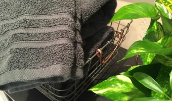 Our Bathroom Makeover with Macy's Hotel Collection Towels (GIVEAWAY)