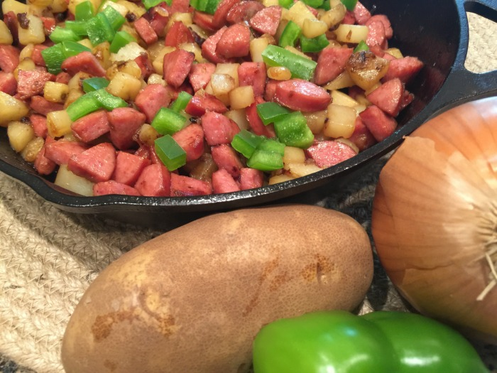 One Pot Meals - Smoked Sausage, Potatoes and Bell Pepper