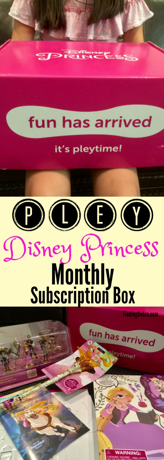 Pley Disney Princess Monthly Subscription Box - Find out all the details about our experience.