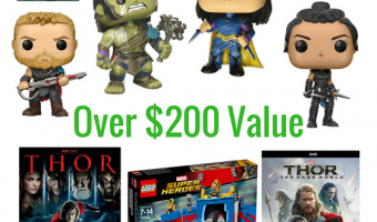 Thor Ragnarok Giveaway – Prize Pack Worth $250