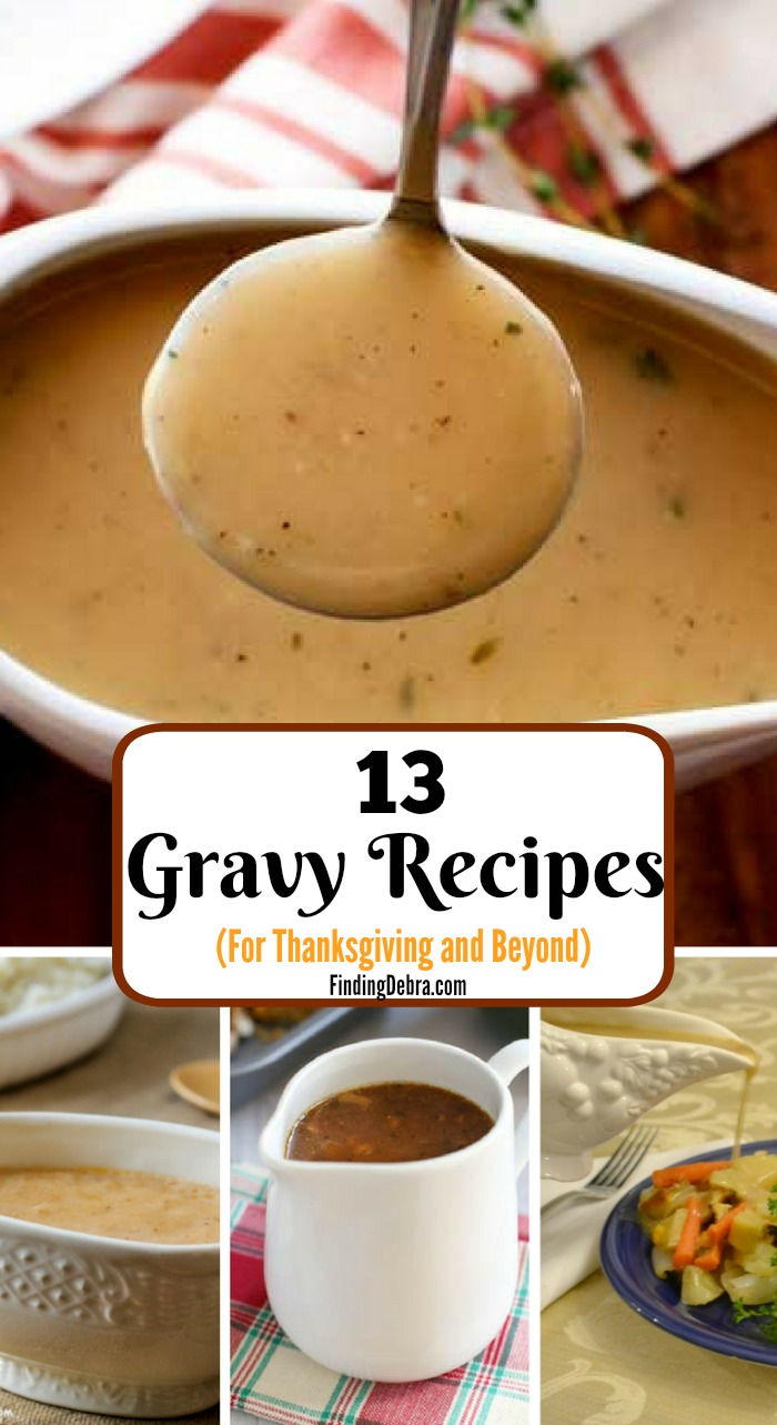 13 Gravy Recipes for Thanksgiving and Beyond