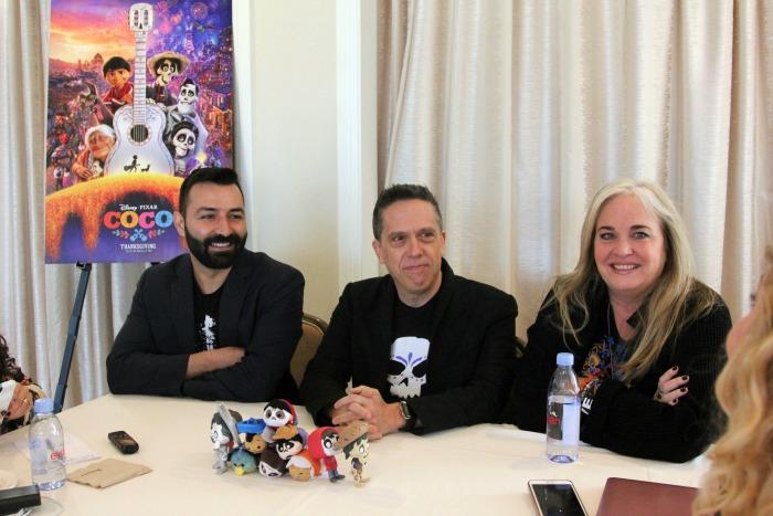 Coco Pixar - Adrian, Lee, Darla