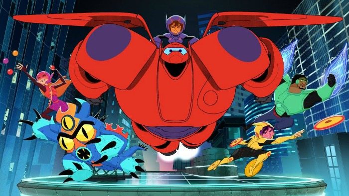 Big Hero 6 The Series characters