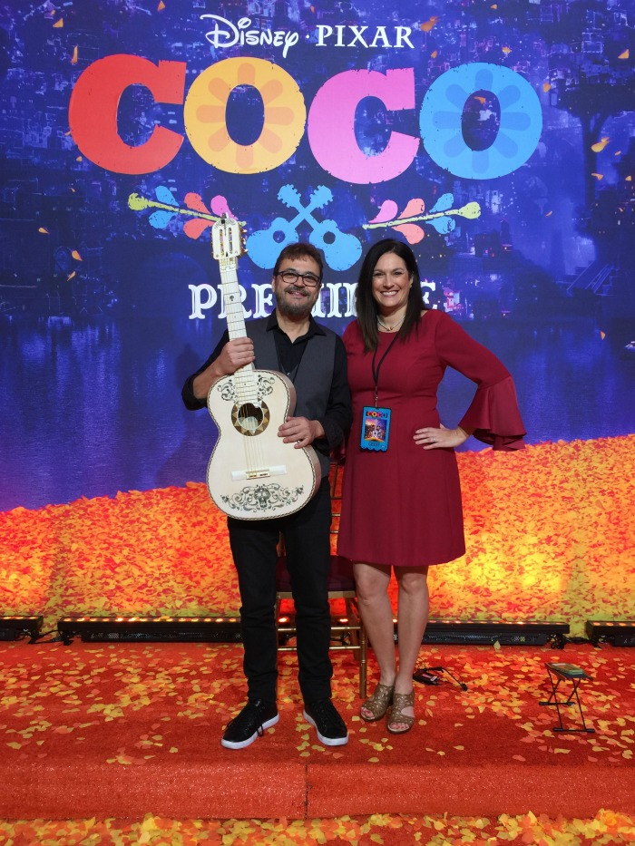 COCO PRemiere guitar from movie