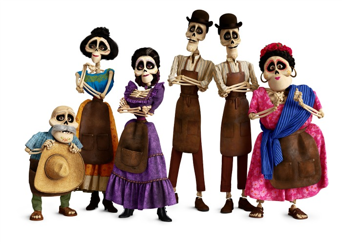 Coco - Miguel's Family in Land of the Dead