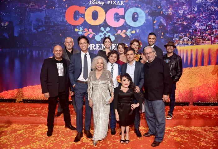 Coco Premiere Cast photos