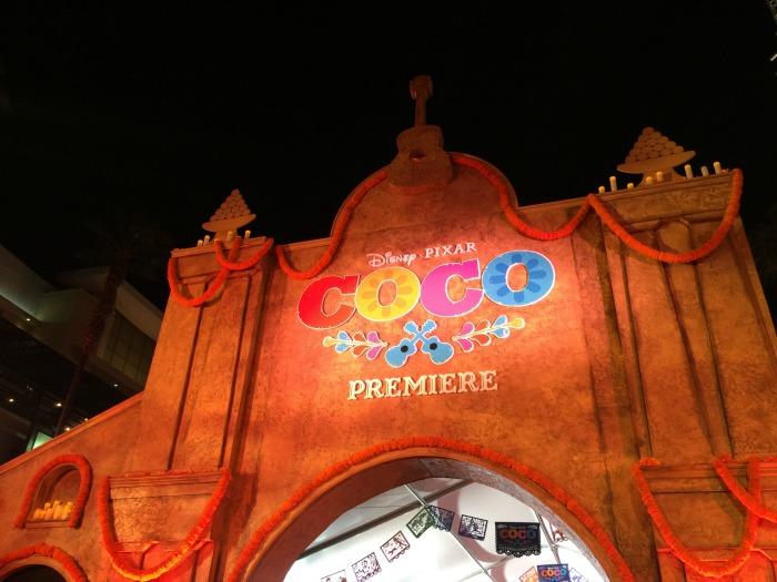 Coco Premiere Hollywood Nov 2017