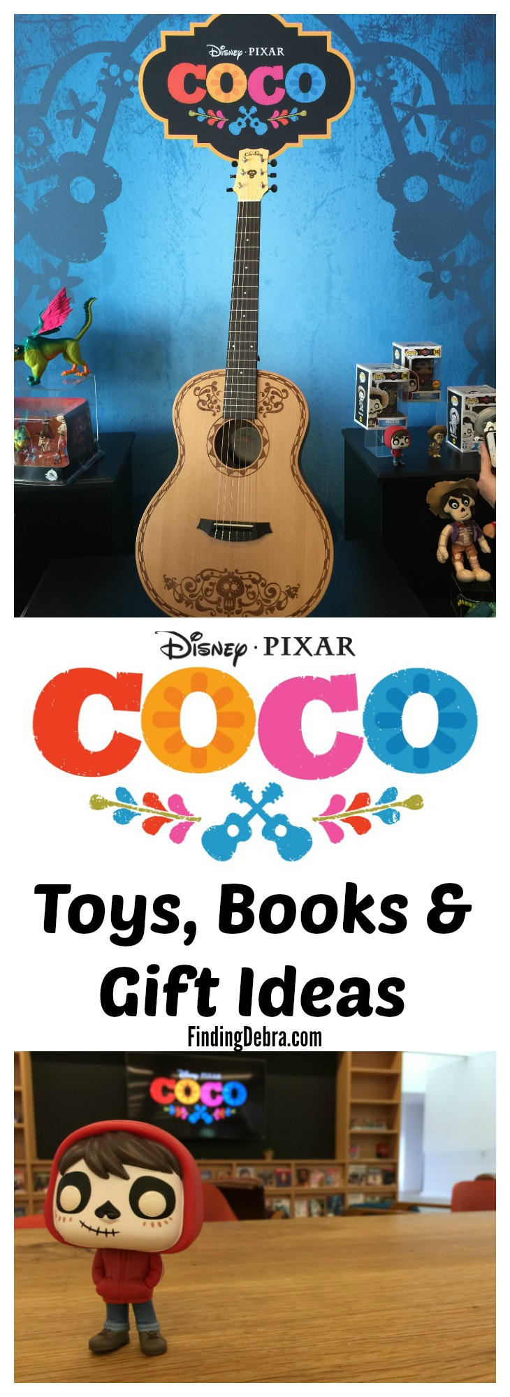 Disney*Pixar Coco Toys Books and Gift Ideas