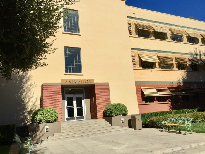 Olmos Productions on the Walt Disney Studios Lot