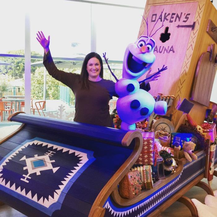 Olaf's Frozen Adventure Sleigh