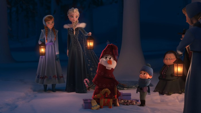 Olaf's Frozen Adventure Exclusive interview