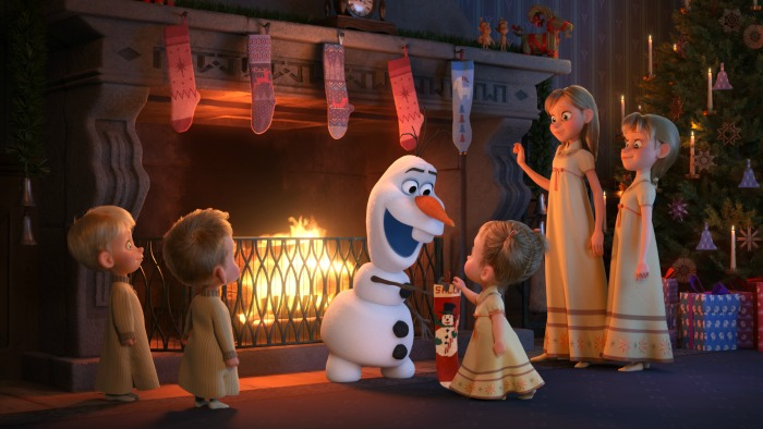 Olaf's Frozen Adventure before COCO
