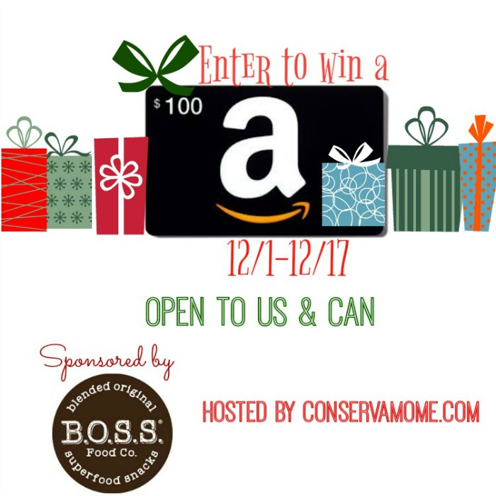 BOSS Food Co amazon giveaway
