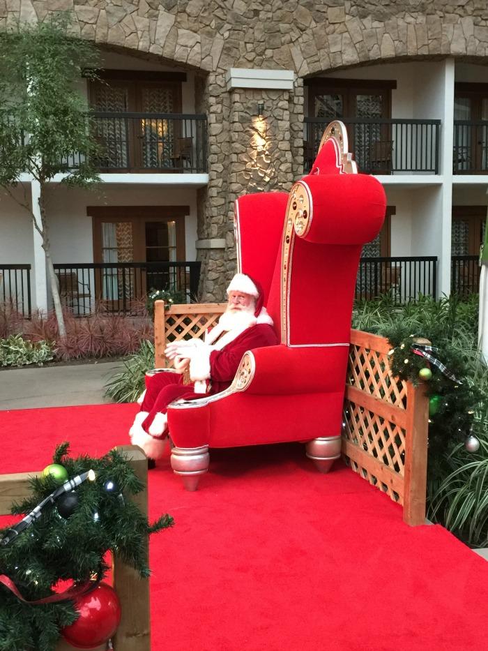 Gaylord Texan Christmas Santa