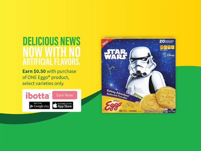 Kellogg's® Eggo® Star Wars Galaxy Adventure™ Buttermilk Pancakes