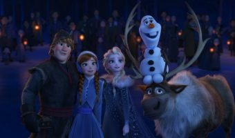 Olaf's Frozen Adventure Television Debut & My Olaf Lesson