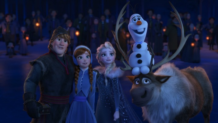 Olaf's Frozen Adventure television debut