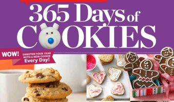 Taste of Home 365 Days of Cookies Cookbook (Giveaway)