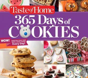 Taste of Home 365 Days of Cookies Cookbook (Giveaway)