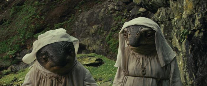 The Last Jedi animals