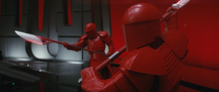 The Last Jedi battles