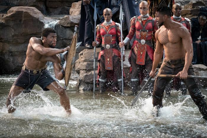 Black Panther scene