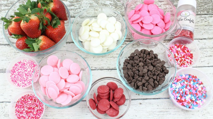Chocolate Covered Strawberries recipe ingredients