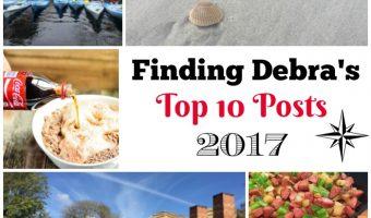 Finding Debra's Top 10 Posts 2017