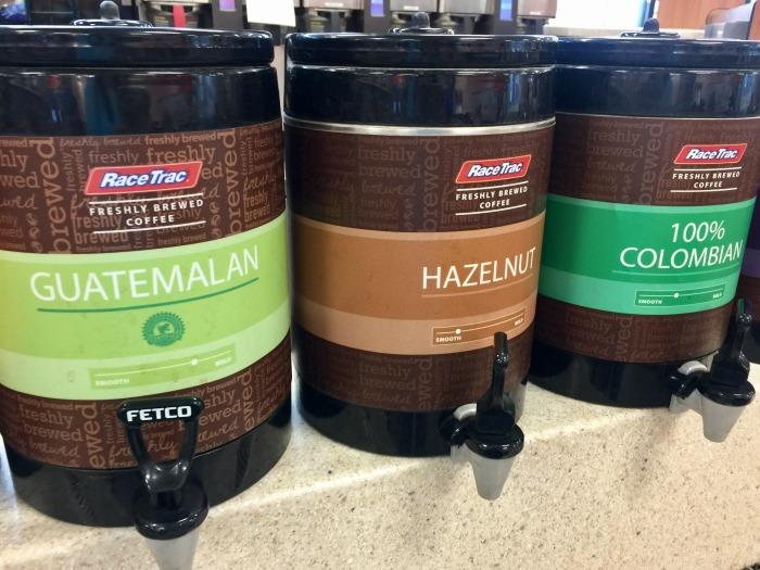 RaceTrac coffee blends