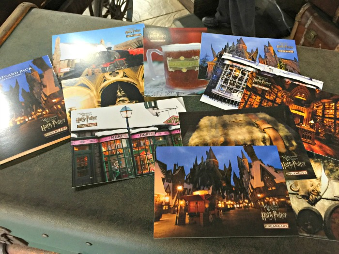 Hogsmeade postcards