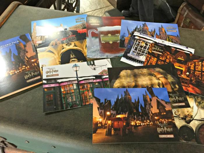 Hogsmeade postcards