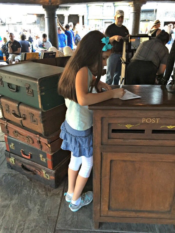 Sending Mail with Hogsmeade postmark - Owl Post