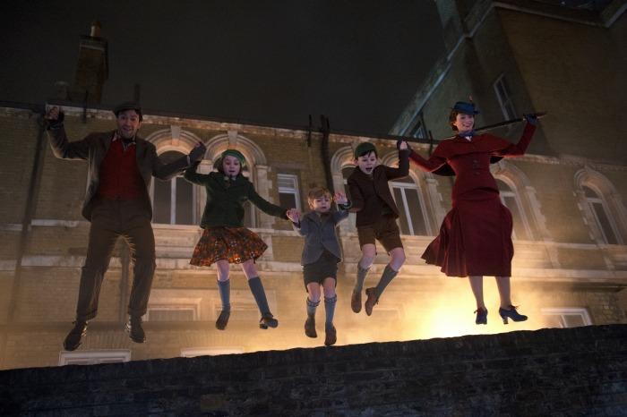 Mary Poppins Returns scene