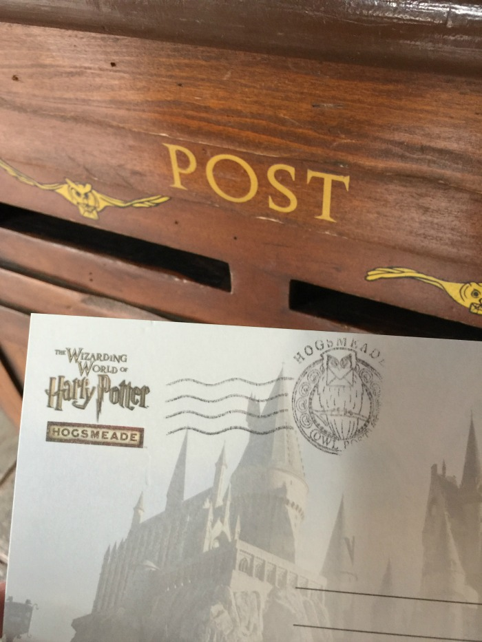 Owl Post - Mailing from Hogsmeade