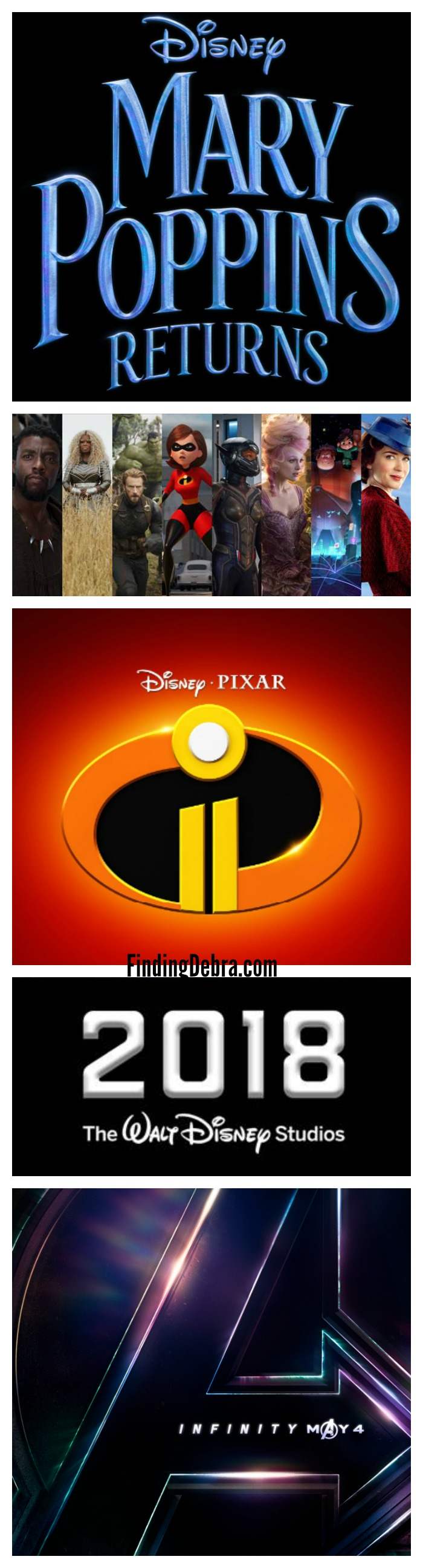 2018 Disney Movies Slate