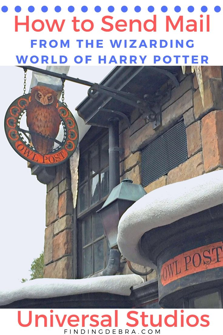 Send Mail from Wizarding World of Harry Potter