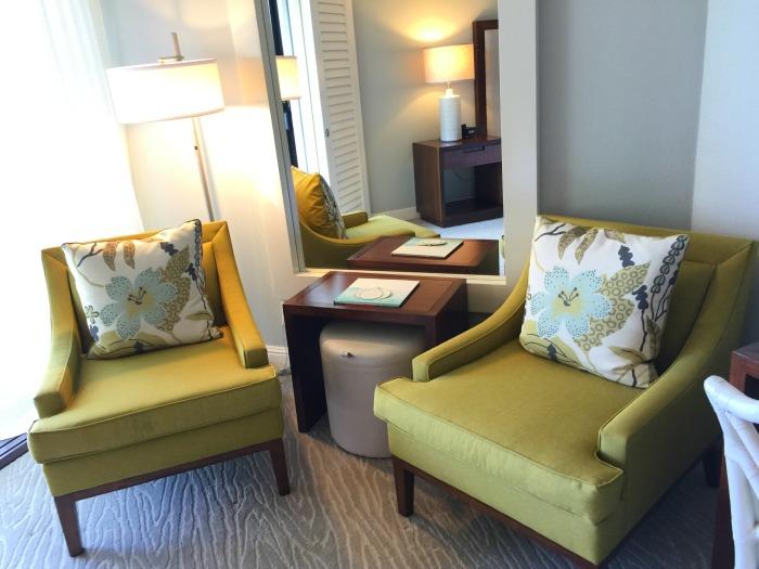 Aqua Kauai Beach Resort Room Sitting Area