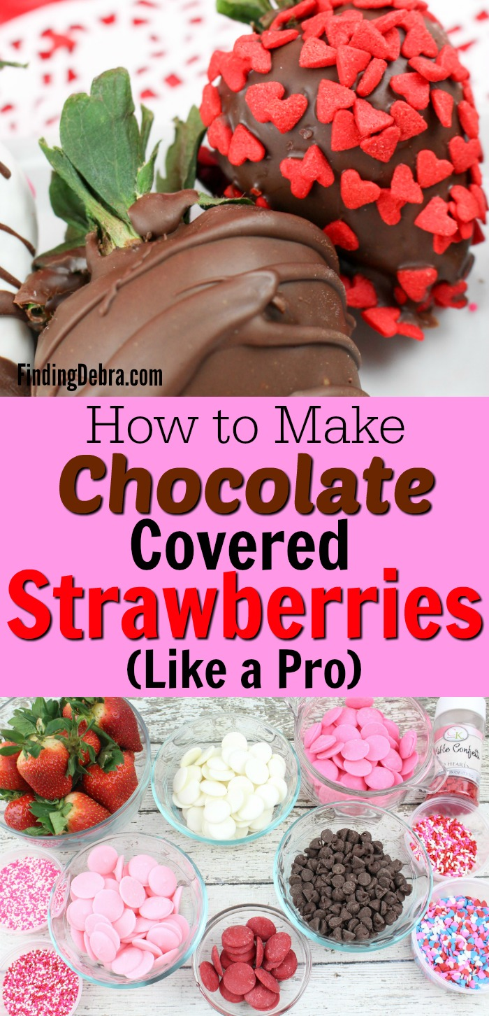 How to make chocolate covered strawberries like a pro