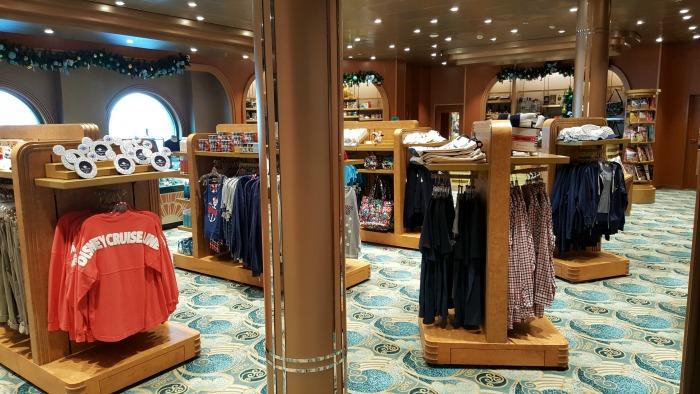 Disney Cruise shopping