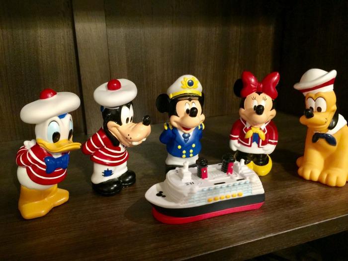 Disney Cruise Bath Toys