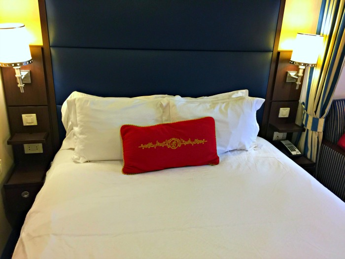 Disney Cruise Line Stateroom Pillow