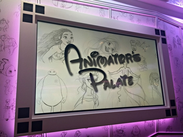 Disney Cruise Animator's Palate