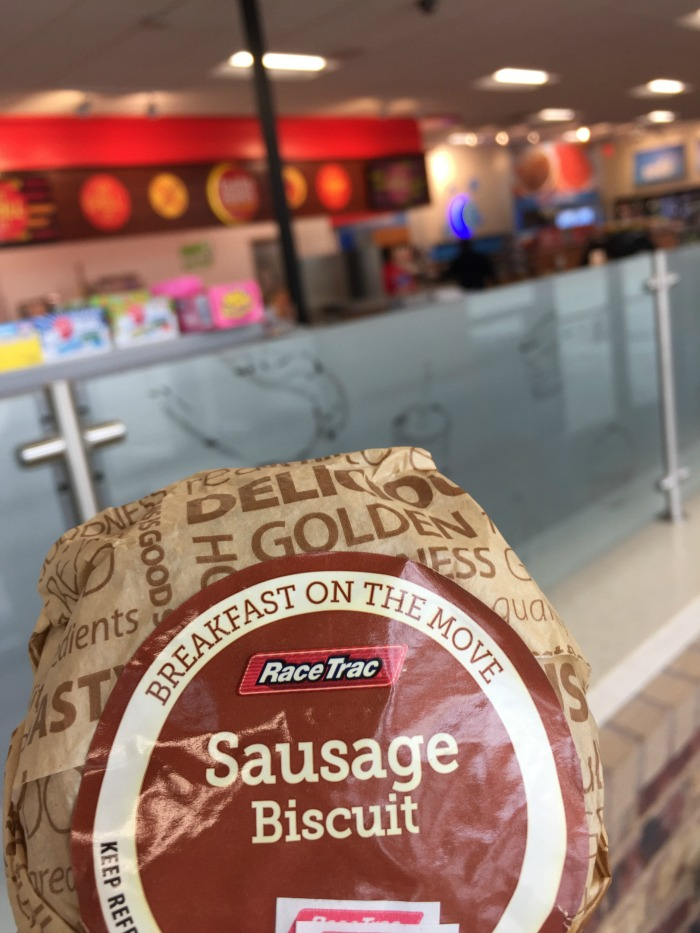 RaceTrac Breakfast sandwiches - Nightowl's Guide to Mornings